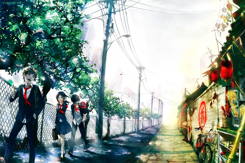 Anime Inspired Desktop
