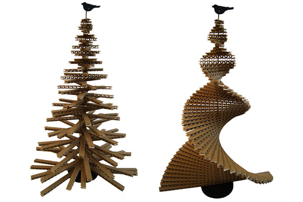 Unusual cardboard christmas tree mooki - Weihnachtsbaum aus pappe ...
