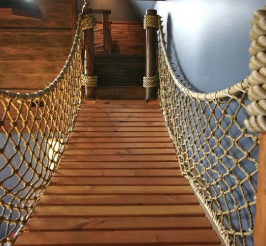 Pirate Ship Bed Room
