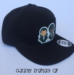 CHARACTER SNAPBACK CAP