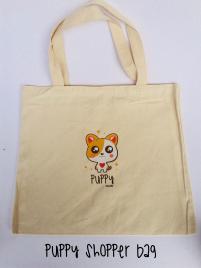 PUPPY SHOPPER BAG
